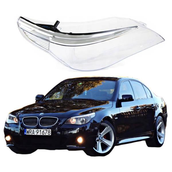 KLOSZ SZKŁO REFLEKTORA BMW 5 E60 E61 PRAWY